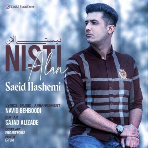 دانلود آهنگ جدید سعید هاشمی نیستی الان
