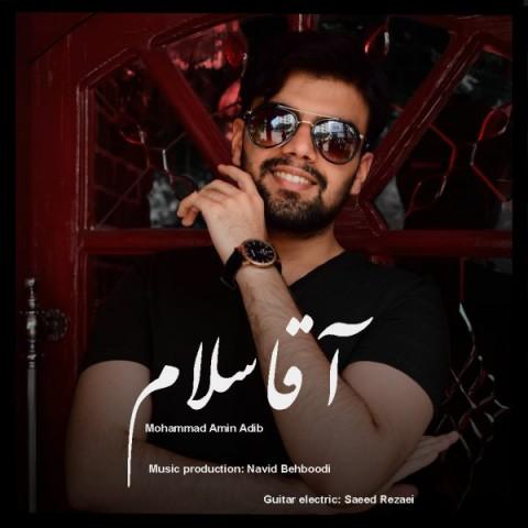 دانلود آهنگ جدید محمد امین ادیب آقا سلام