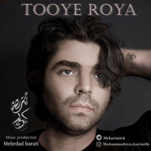 دانلود آهنگ جدید محمدرضا کریمی توی رویا
